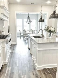 Stunning White Kitchen Design Ideas 29