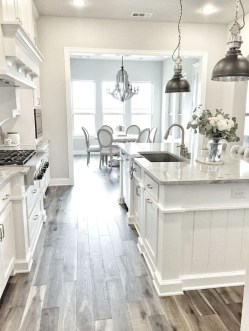 Stunning White Kitchen Design Ideas 29