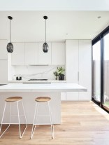 Stunning White Kitchen Design Ideas 41