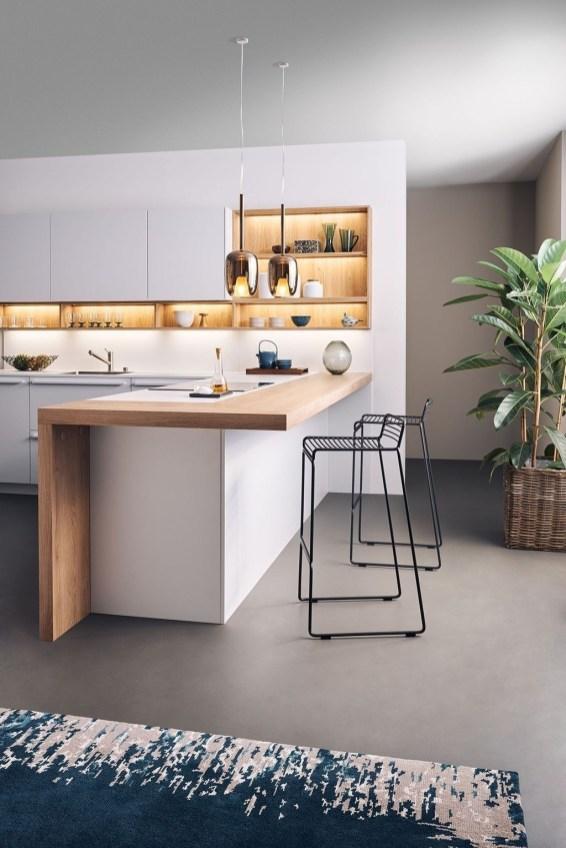 Stunning White Kitchen Design Ideas 49