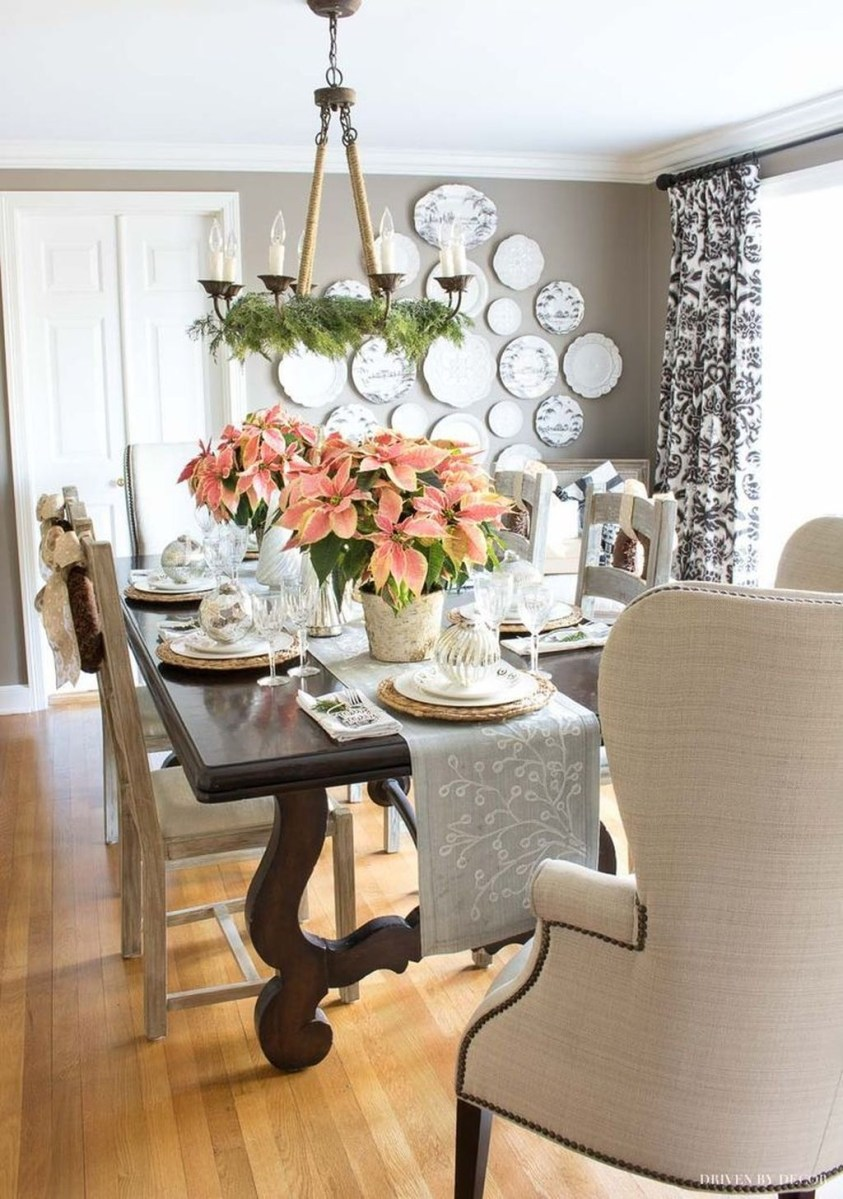 Winter Dining Room Decoration Ideas On Your Table 03