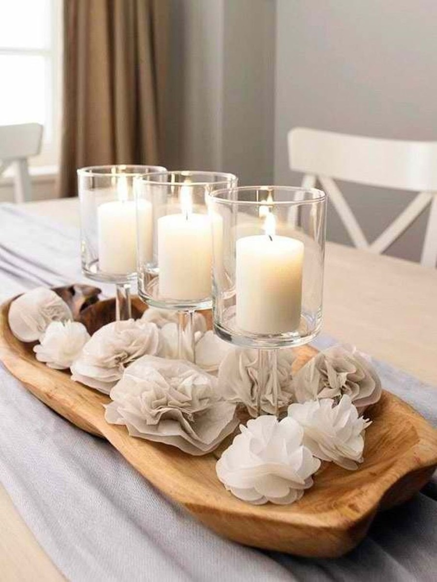 Winter Dining Room Decoration Ideas On Your Table 19