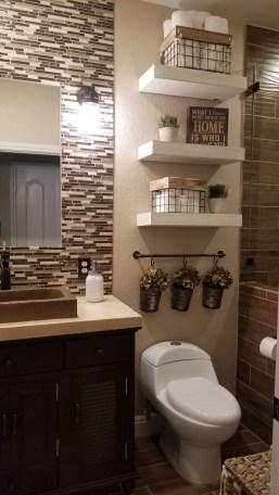 Affordable Farmhouse Bathroom Design Ideas 26