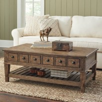 Awesome Wooden Coffee Table Design Ideas 30