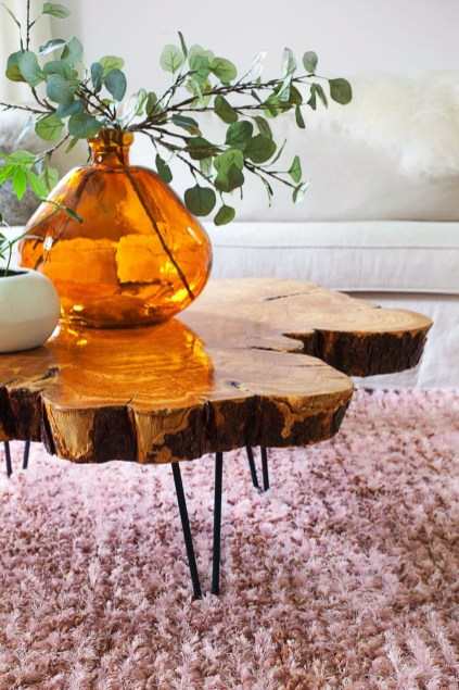 Awesome Wooden Coffee Table Design Ideas 34