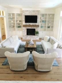 Best Winter Living Room Makeover Ideas 14