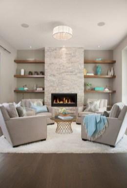 Best Winter Living Room Makeover Ideas 15