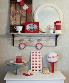 Cute Bathroom Decoration Ideas With Valentine Theme 01