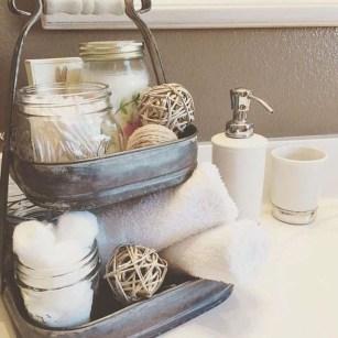 Cute Bathroom Decoration Ideas With Valentine Theme 45