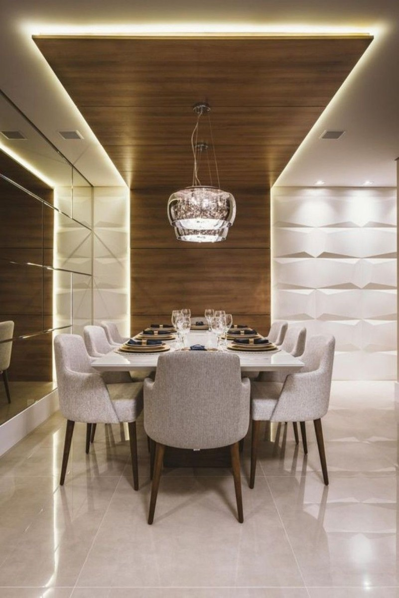 Elegant Modern Dining Room Design Ideas 05