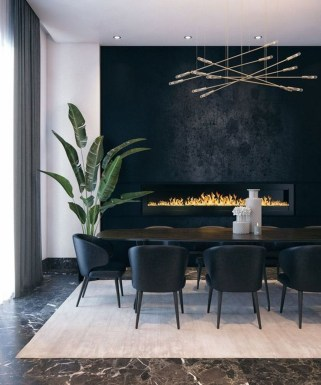 Elegant Modern Dining Room Design Ideas 39