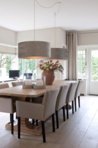 Elegant Modern Dining Room Design Ideas 41