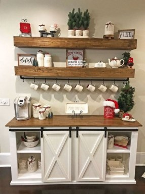Great Coffee Cabinet Organization Ideas 16