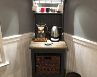 Great Coffee Cabinet Organization Ideas 19
