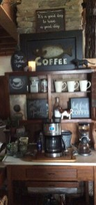 Great Coffee Cabinet Organization Ideas 20