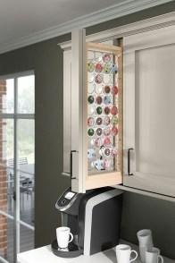 Great Coffee Cabinet Organization Ideas 29