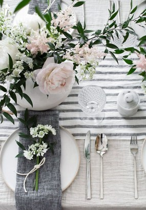 Great Spring Table Setting Ideas 16