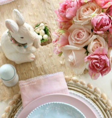 Great Spring Table Setting Ideas 28