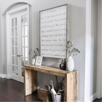 Inspiring Console Table Ideas 14
