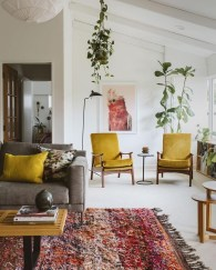 Inspiring Furniture Color Ideas For Your Living Room 05