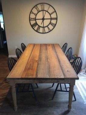 Perfect Farmhouse Dining Table Design Ideas 22
