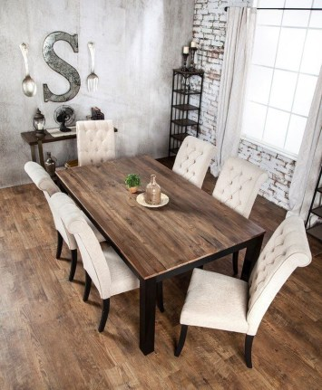 Perfect Farmhouse Dining Table Design Ideas 40