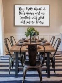 Perfect Farmhouse Dining Table Design Ideas 43