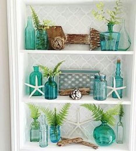 Stunning Coastal Living Room Decoration Ideas 22