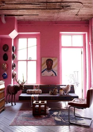 42 Sweet Living Room Decor Ideas With Red Color For Valentines Day