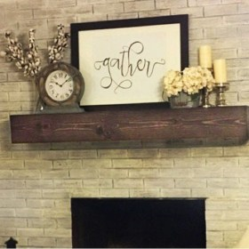The Best Mantel Decoration Ideas 50