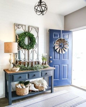 The Best Winter Entryway Decor Ideas 15