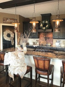 Totally Inspiring Farmhouse Kitchen Design Ideas 19