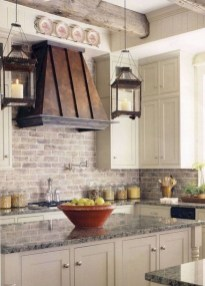 Totally Inspiring Farmhouse Kitchen Design Ideas 21