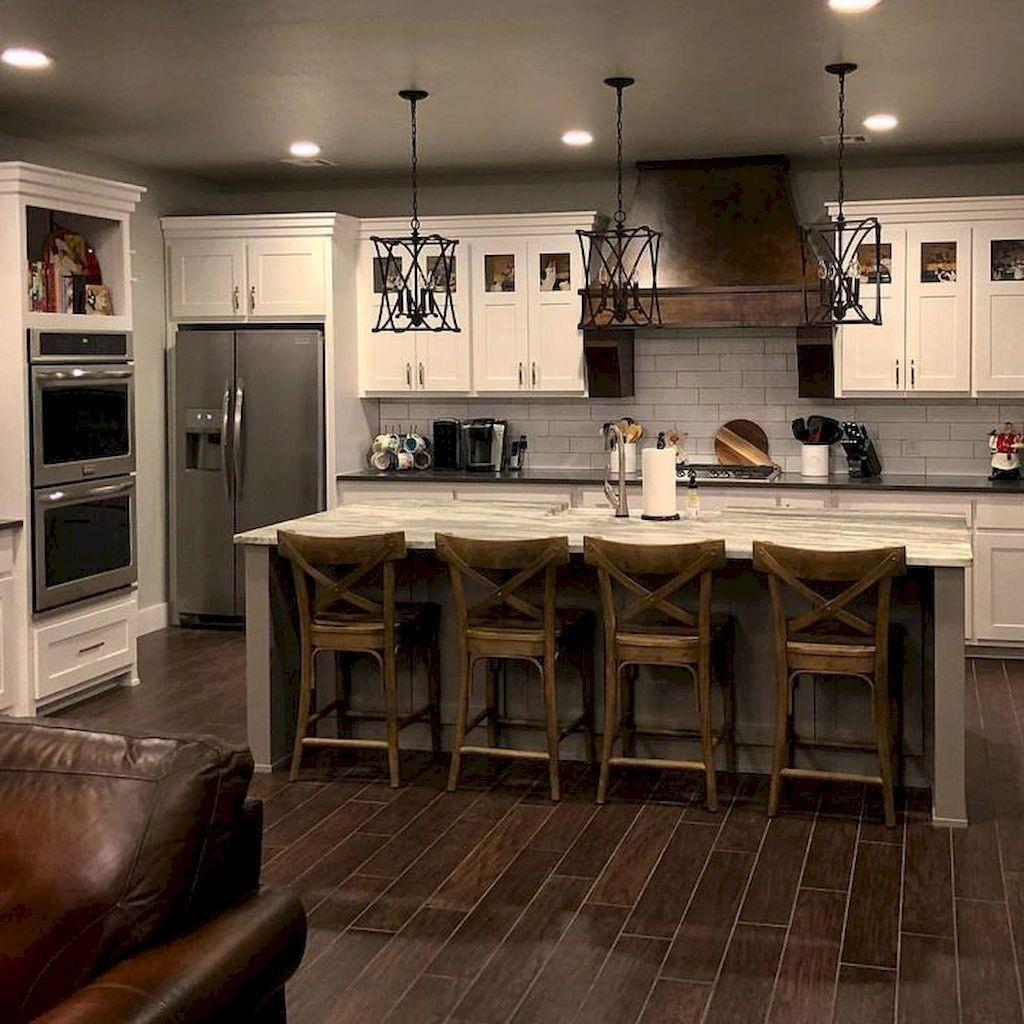 Totally Inspiring Farmhouse Kitchen Design Ideas 44