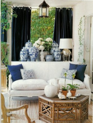 Affordable Blue And White Home Decor Ideas Best For Spring Time 09