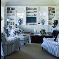 Affordable Blue And White Home Decor Ideas Best For Spring Time 11