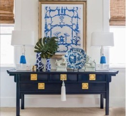 Affordable Blue And White Home Decor Ideas Best For Spring Time 20