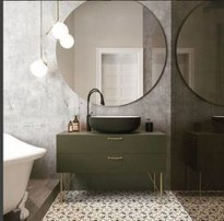 Beautiful Bathroom Mirror Design Ideas 27