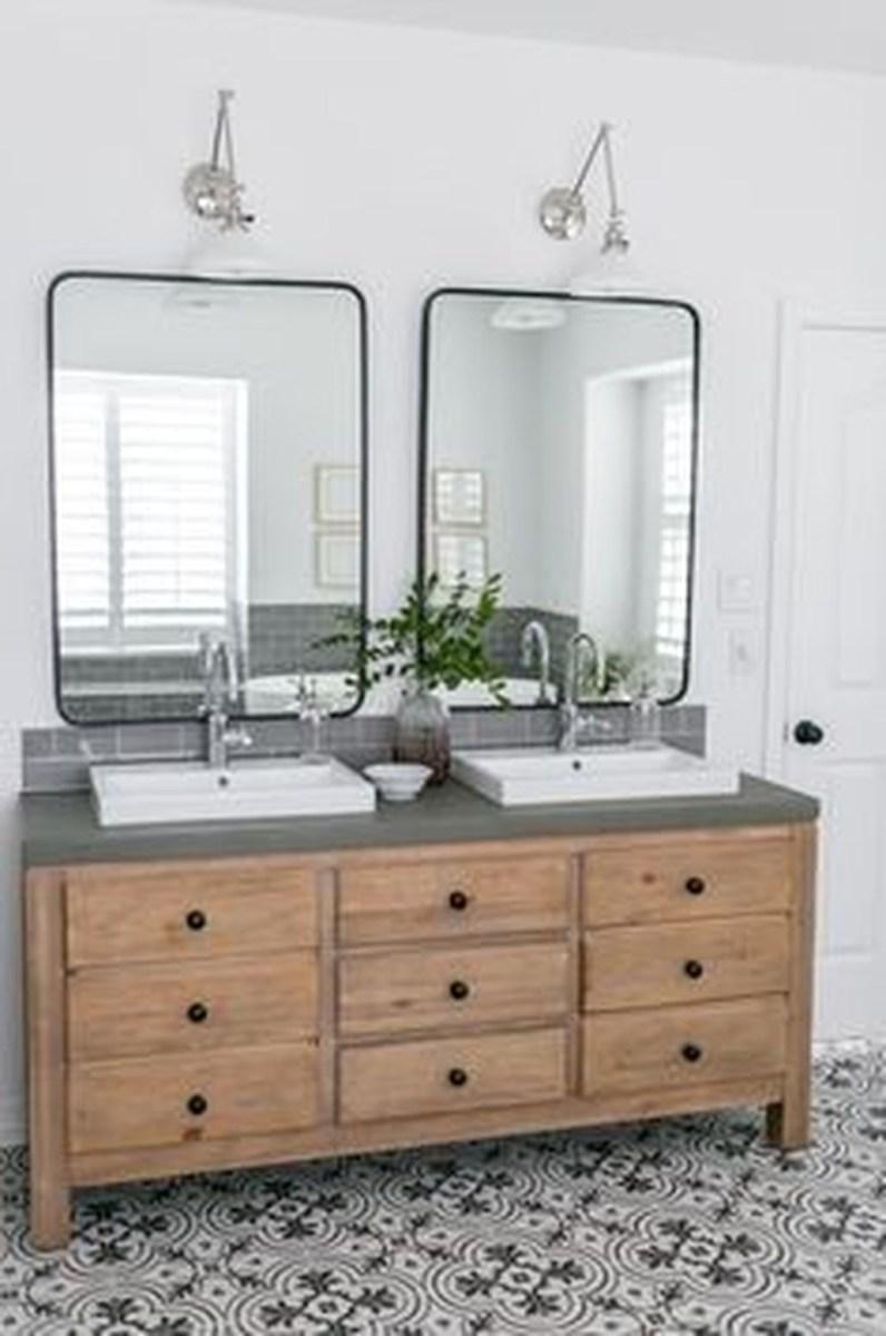 Beautiful Bathroom Mirror Design Ideas 31