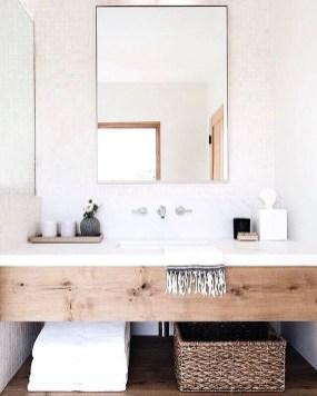 Beautiful Bathroom Mirror Design Ideas 36