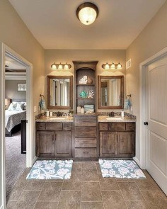 Beautiful Bathroom Mirror Design Ideas 44