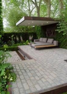 Popular Small Backyard Patio Design Ideas 07