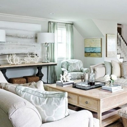 The Best Coastal Theme Living Room Decor Ideas 08