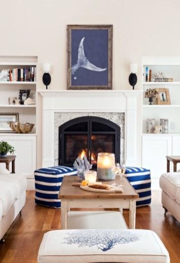 The Best Coastal Theme Living Room Decor Ideas 28