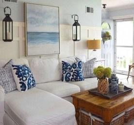 The Best Coastal Theme Living Room Decor Ideas 32