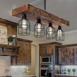 The Best Farmhouse Lights Design Ideas To Get A Vintage Impression 28