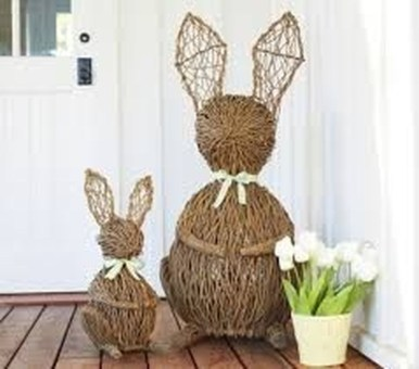 Best Easter Front Porch Decor Ideas 01