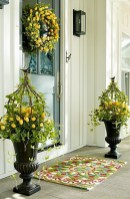 Best Easter Front Porch Decor Ideas 17