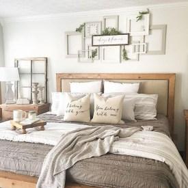 Elegant Farmhouse Bedroom Decor Ideas 21