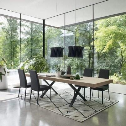Elegant Modern Dining Table Design Ideas 15